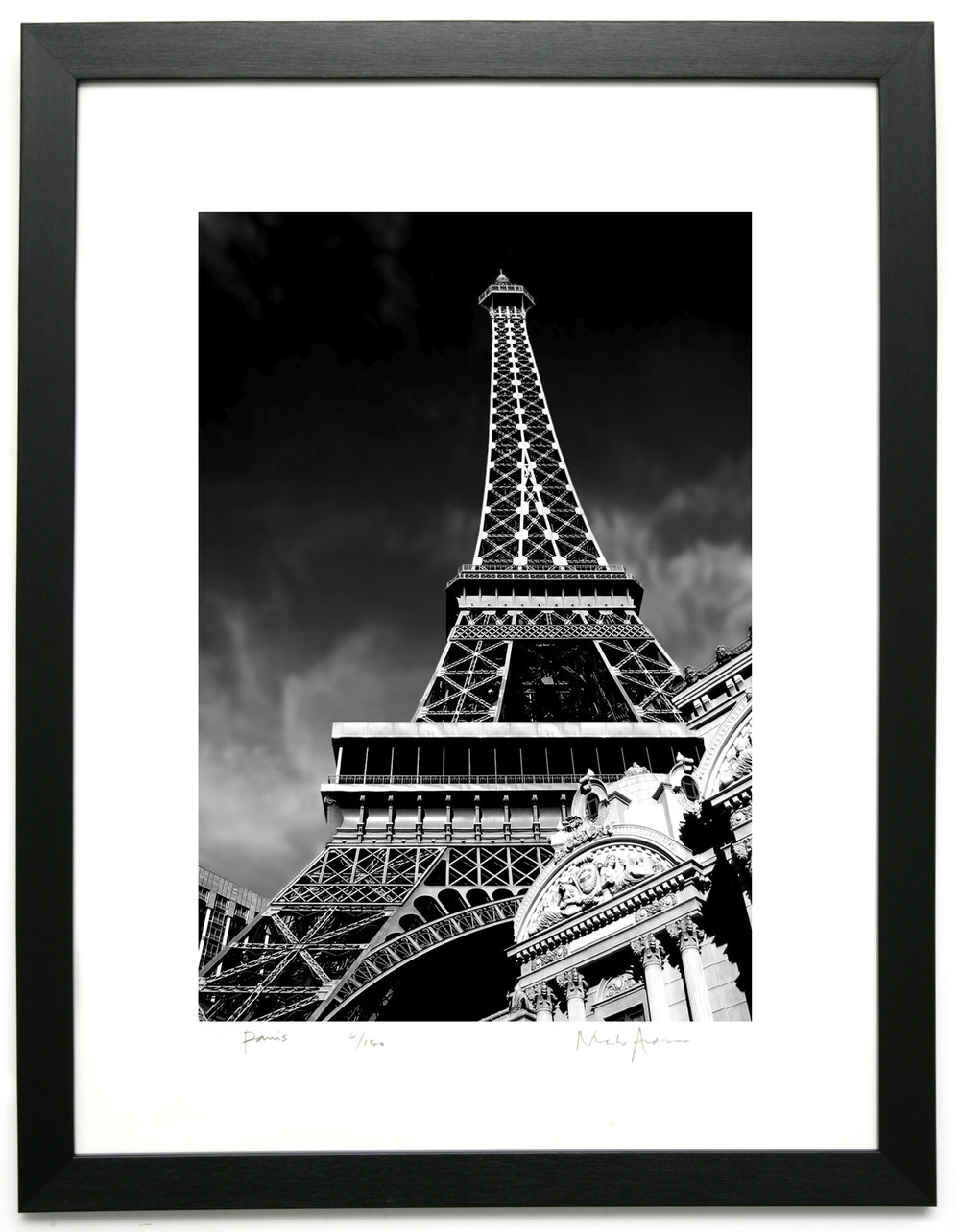 Framed Black White Prints Of Paris London New York For Home