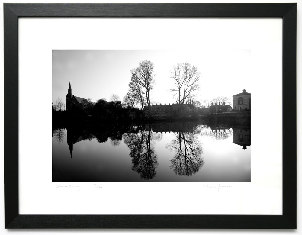 Framed Shrewsbury Black & White Prints — The Photoart Gallery