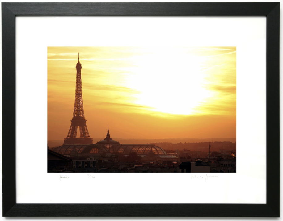 Framed Paris Prints Colour -