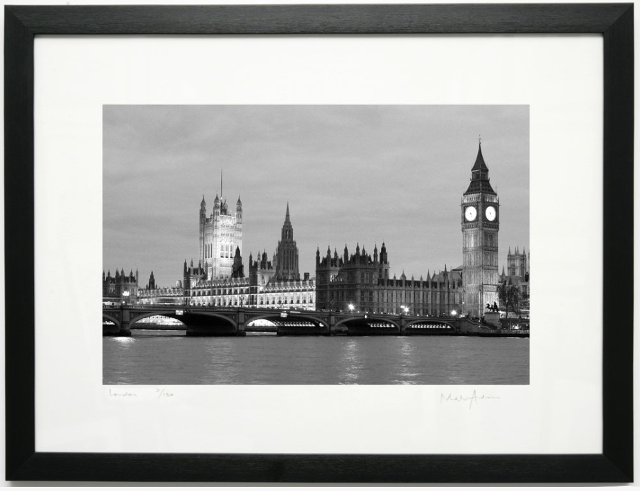 Framed London Prints Black & White -