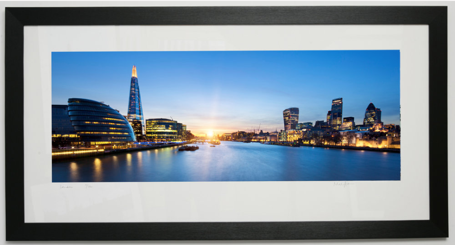 Framed London Prints Panoramics -