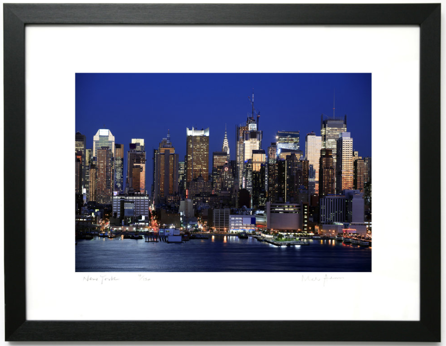 Framed New York Prints Colour -