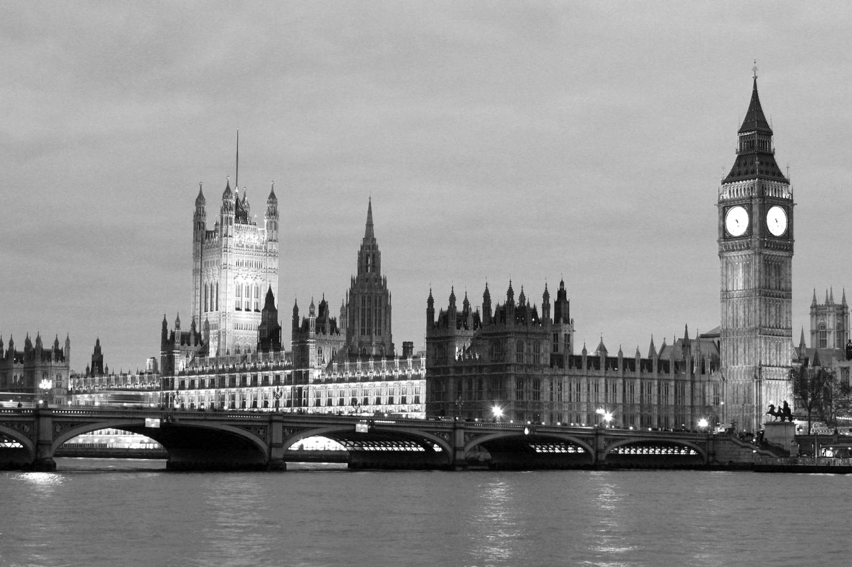 Framed Black White Prints Of London New York Paris For Home