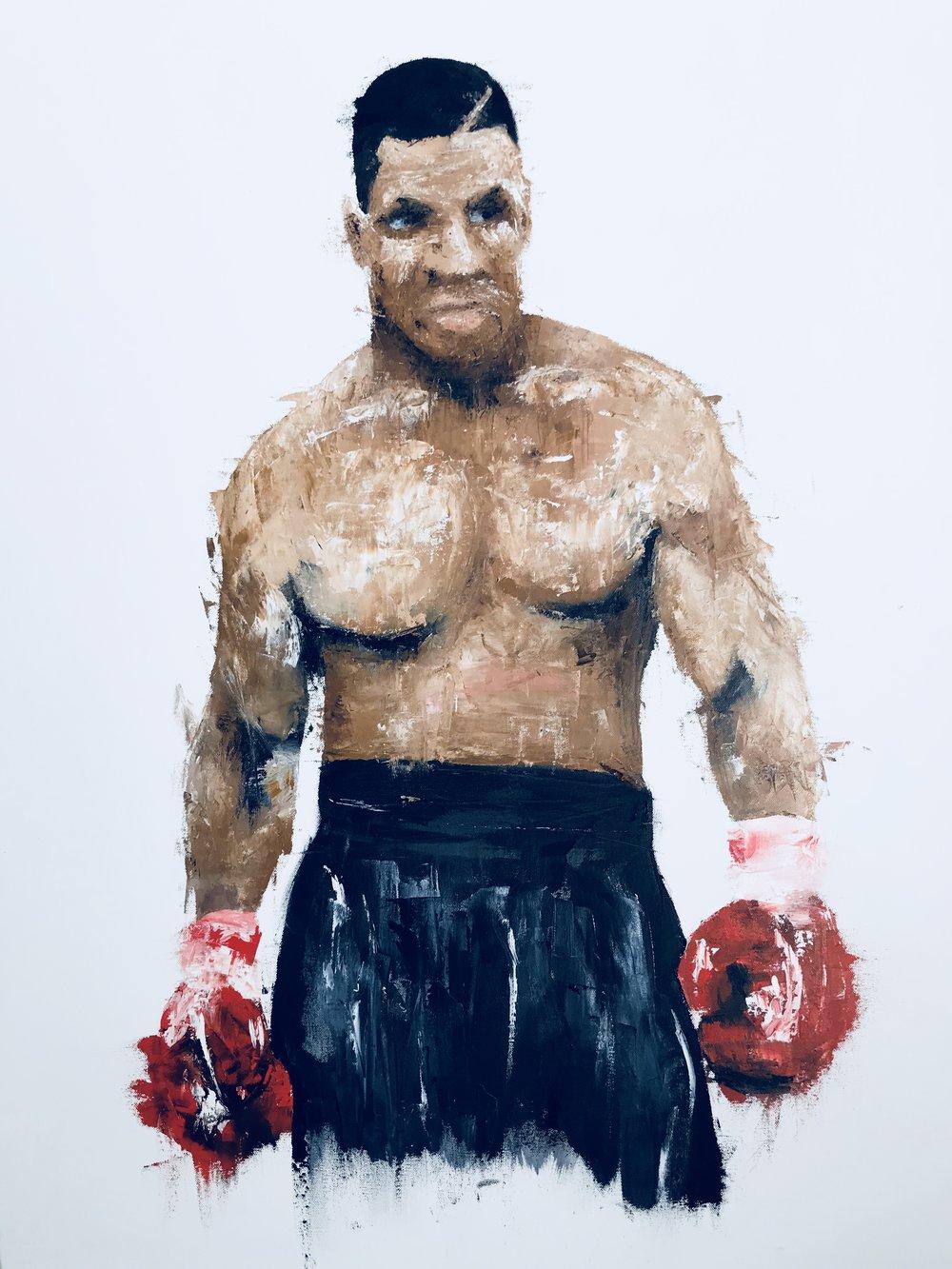 'Tyson' - 30X40|Oil On Canvas|30X40