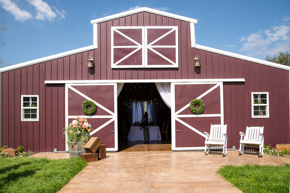Barn venue for prom