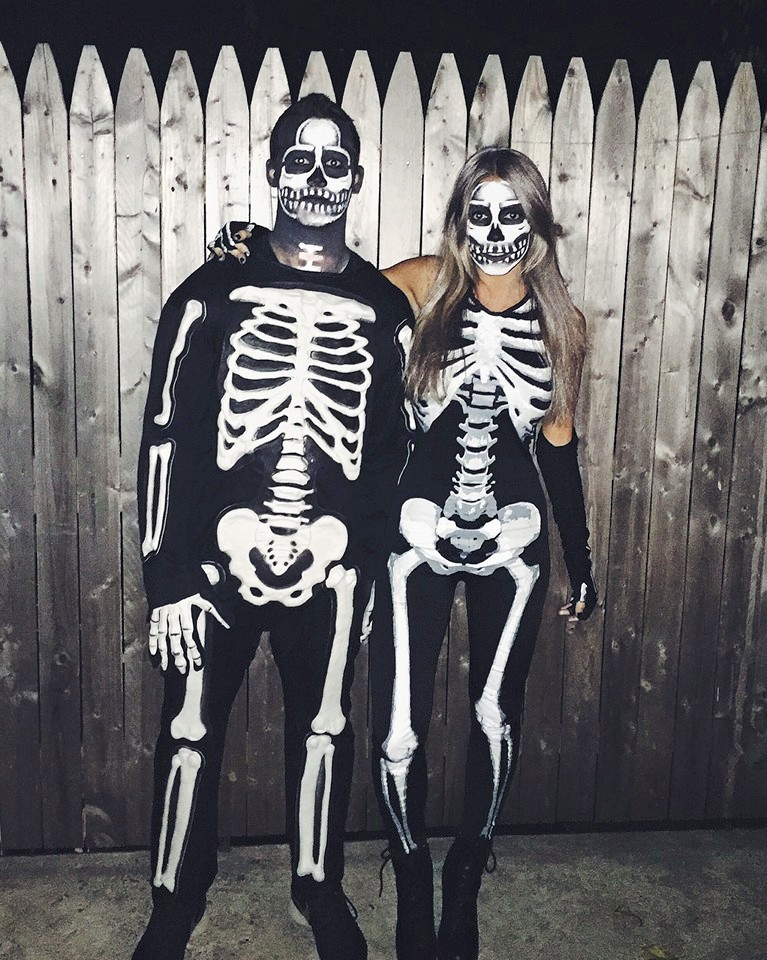 HALLOWEEN 2015 ♡ -- Skeletons (Obviously)