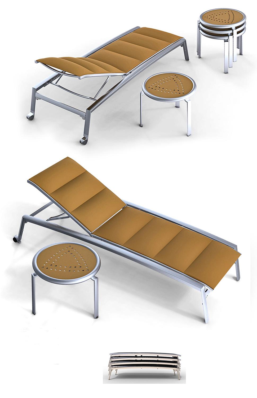 John Caldwell Design Elance Chaise