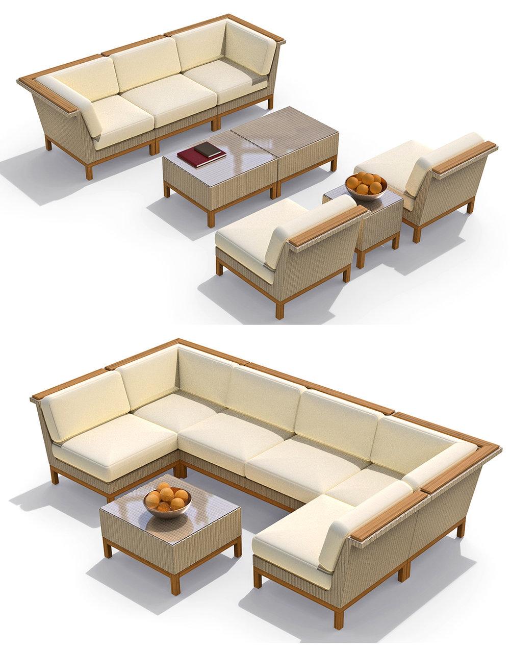 John Caldwell Design Azores Modular