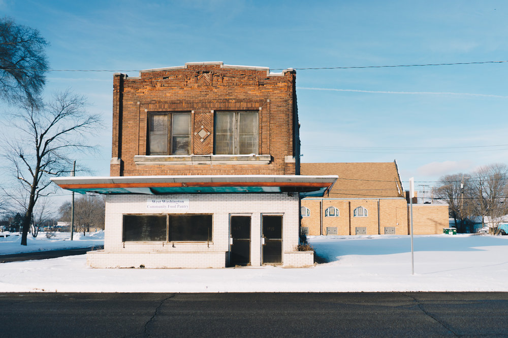 Birdsell Street No. 1   A former pool hall and gathering space on the corner of Washington and Birdsell Streets on the West Side of South Bend featured in our February 2019 story  Snow Day on Birdsell .