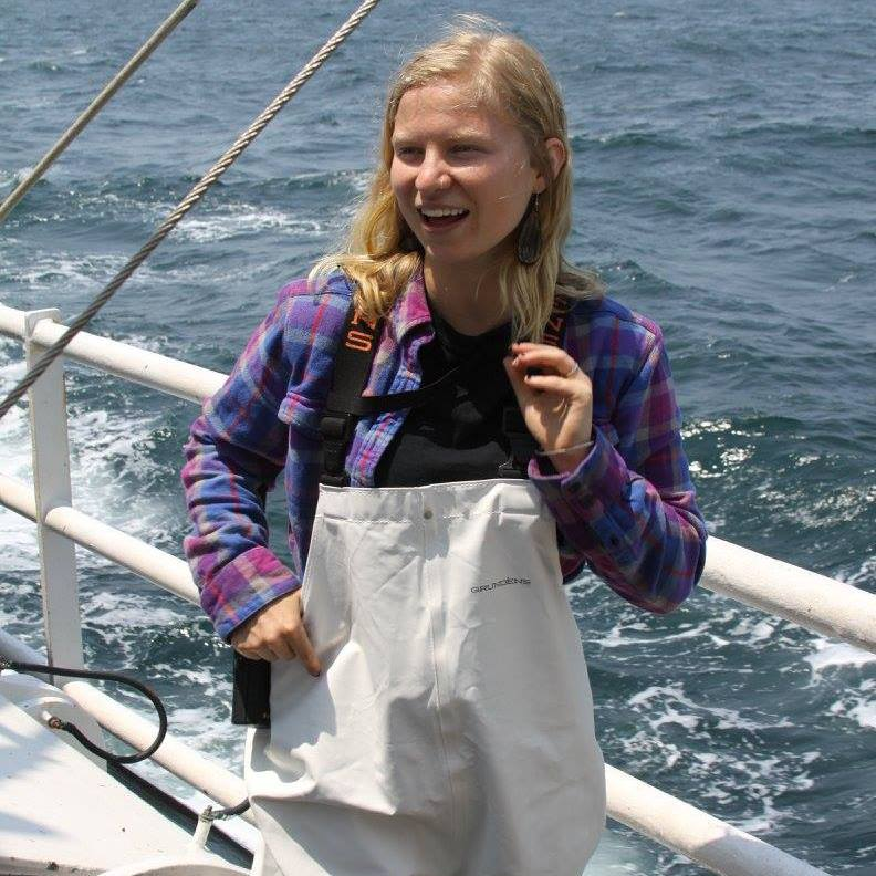 Jenn McHenry's (Research technician) uses macro-ecology, remote-sensing, and GIS to understand, map, and incorporate critical marine ecosystem dynamics into spatial fisheries management, conservation, and multi-use planning strategies. Jenn has a B.Sc. in marine sciences and a double M.Sc. in marine biology and marine policy from the University of Maine.