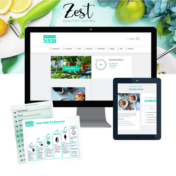 Zest Kick-Start online healthy eating program