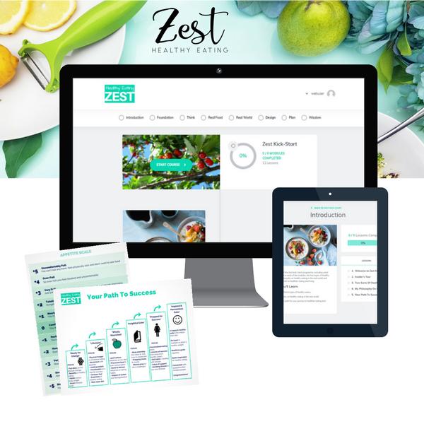 Zest Kick-Start online healthy eating program