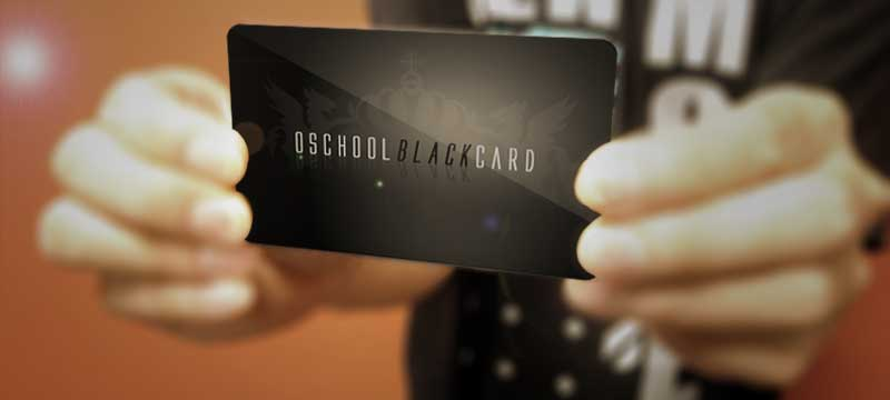 O School Black Card Membership