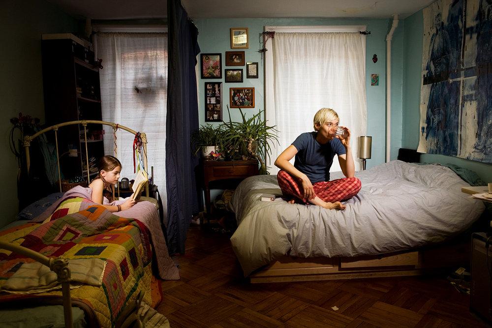 Lydia & Lois, Brooklyn. 2009