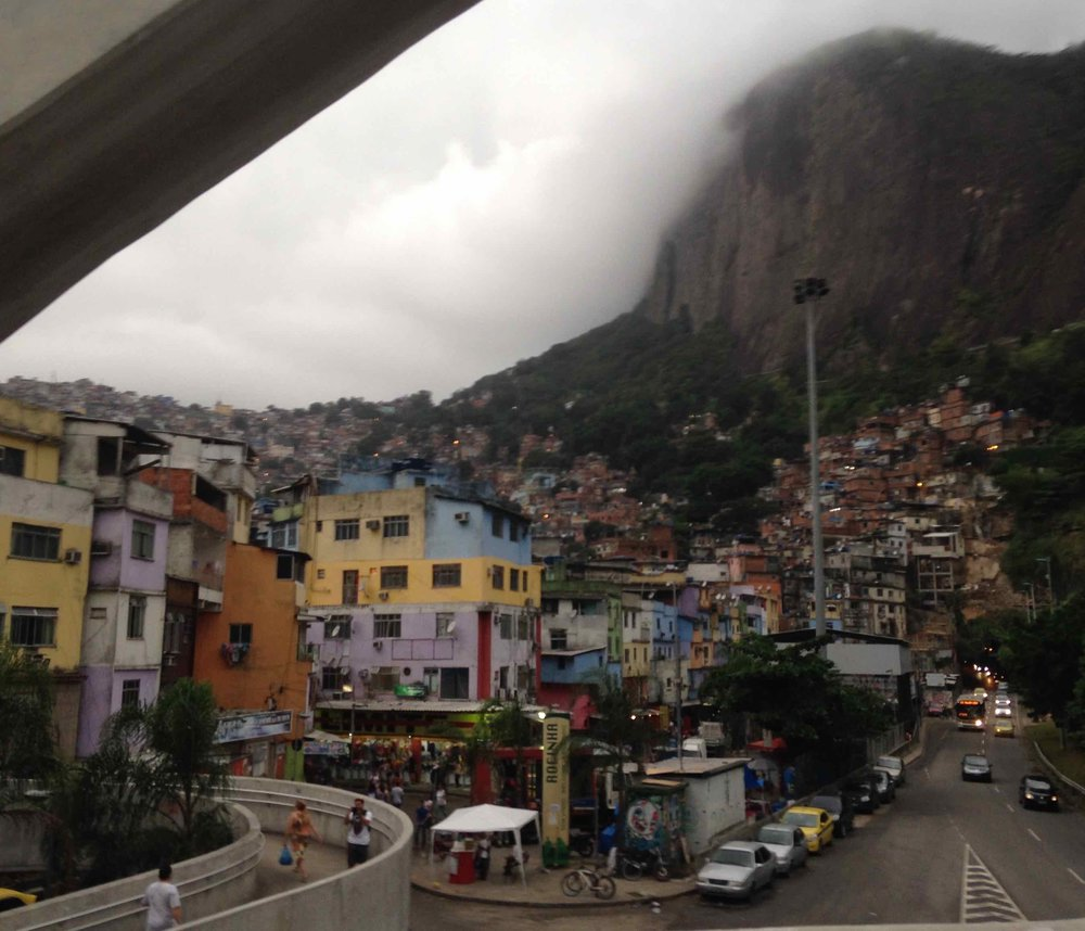 Rocinha from the bridge