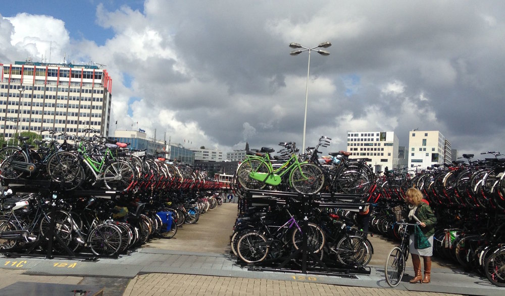 50k bikes are stolen each year in Amsterdam