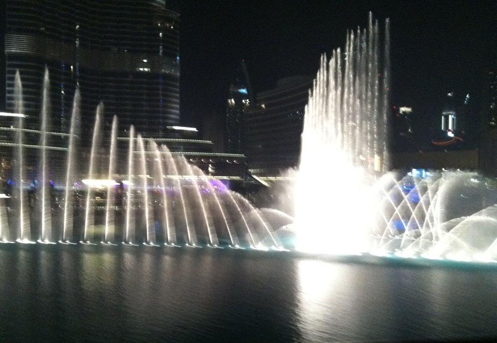 "World's largest ""dancing fountain"""