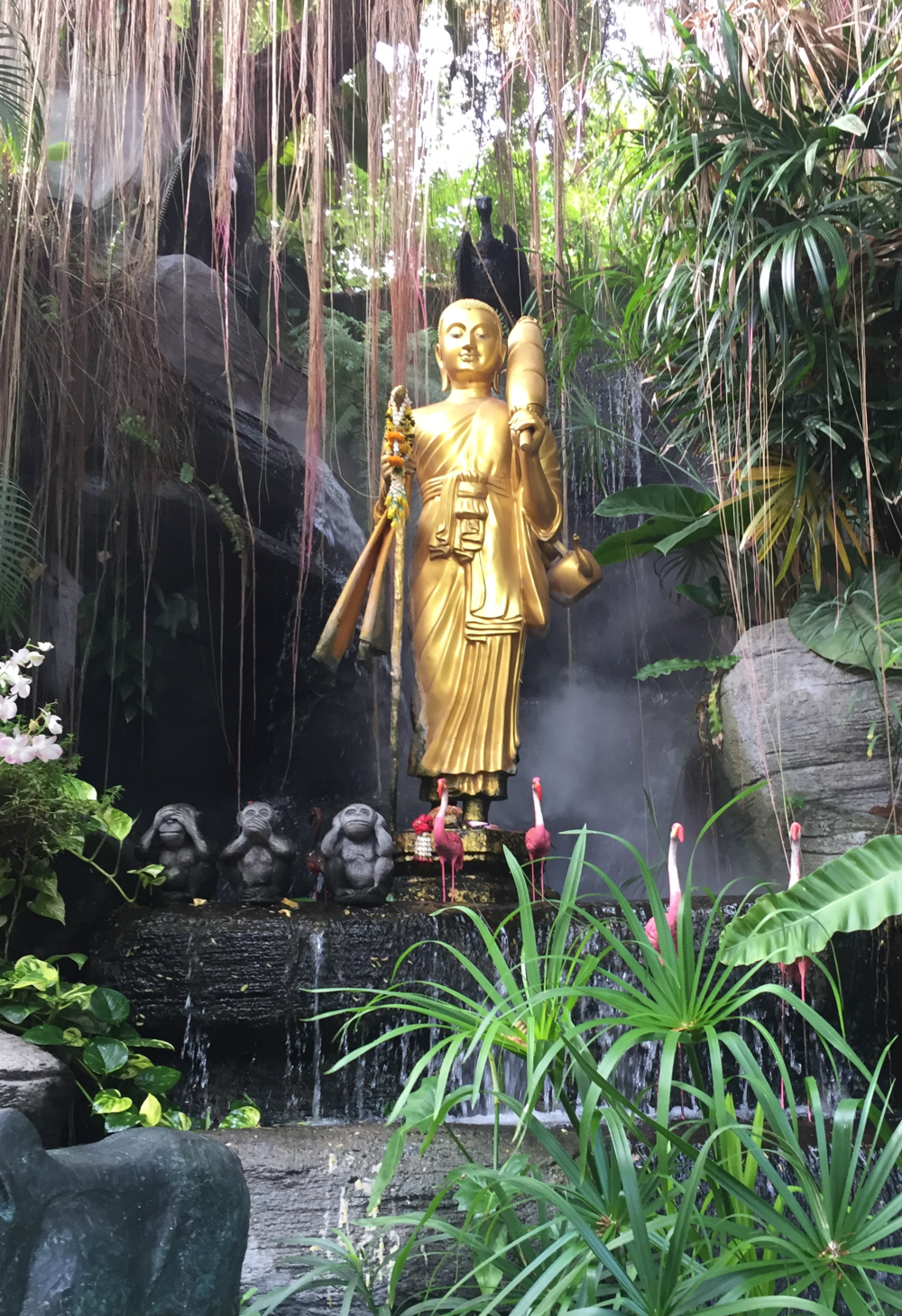 Entrance at Golden Mountain (Wat Saket)