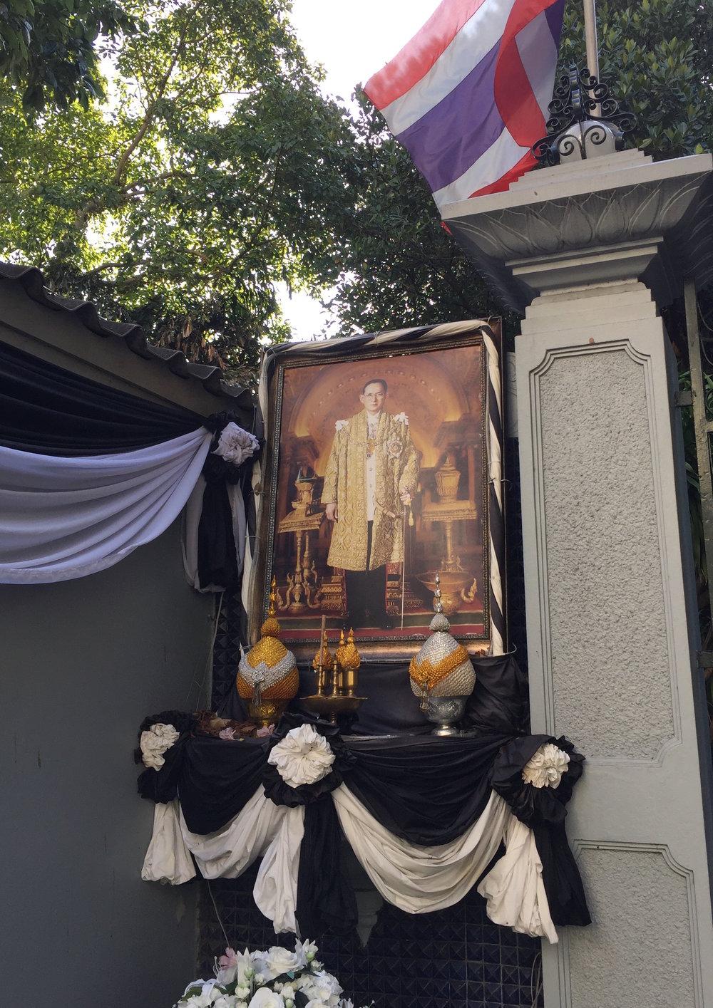 Mourning King Bhumibol, 1927-2016