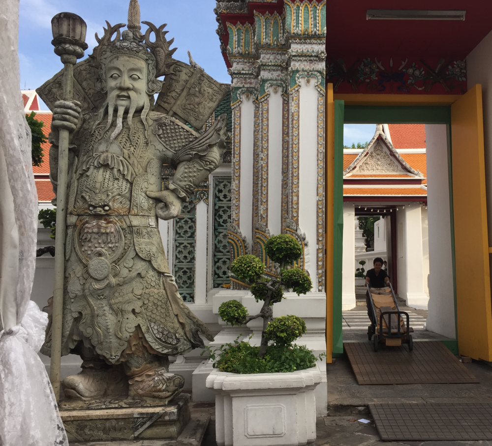 Gate at Wat Pho