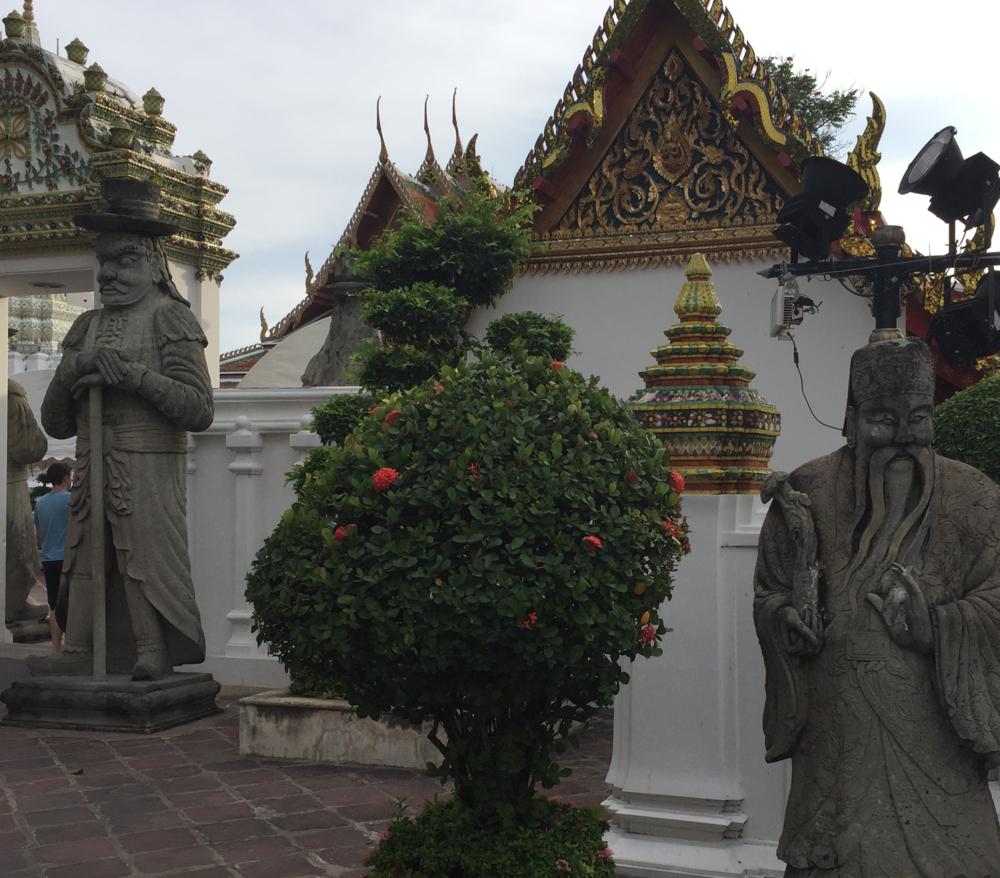 Wat Pho guards