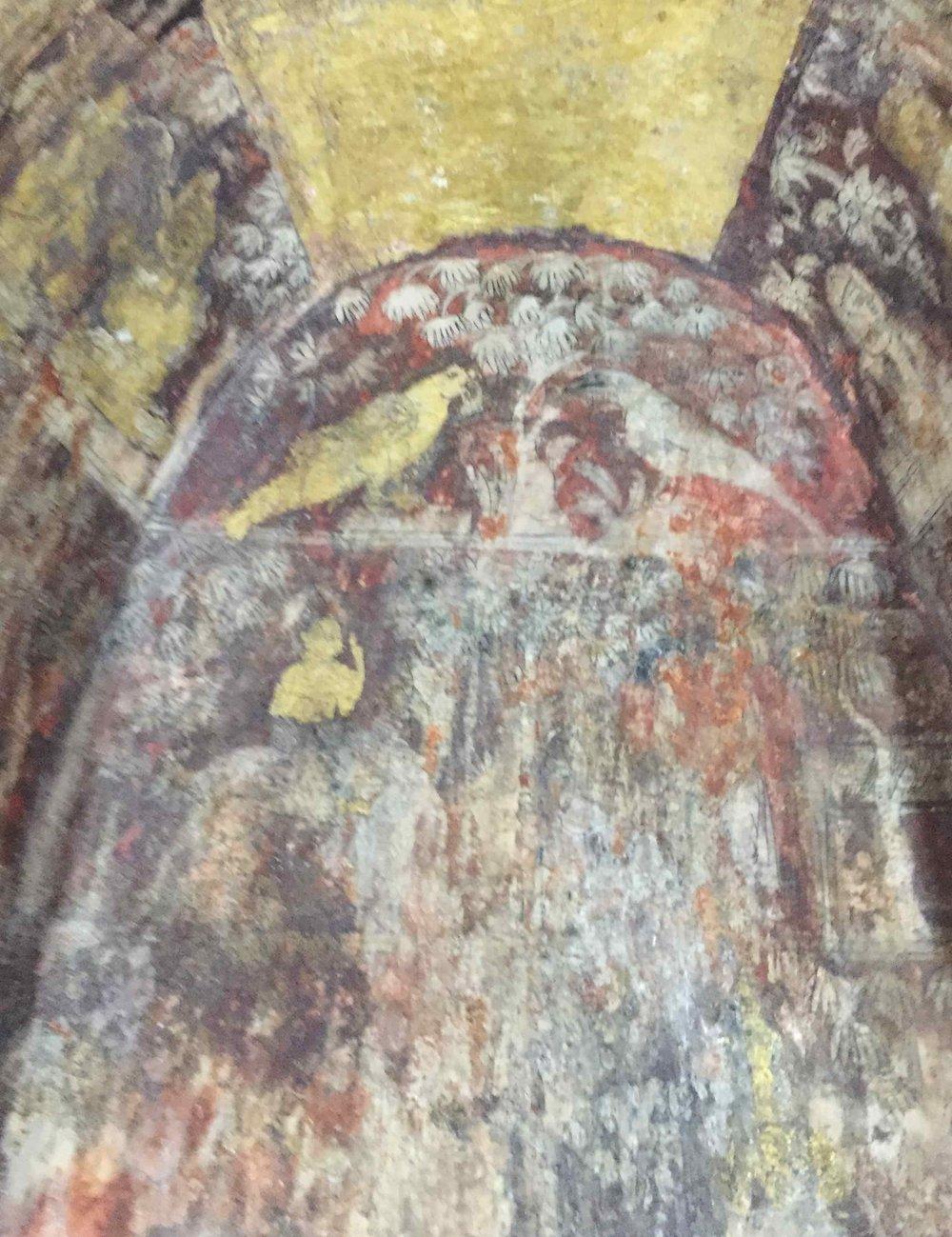 Wall paintings, Wat Ratchaburana crypt