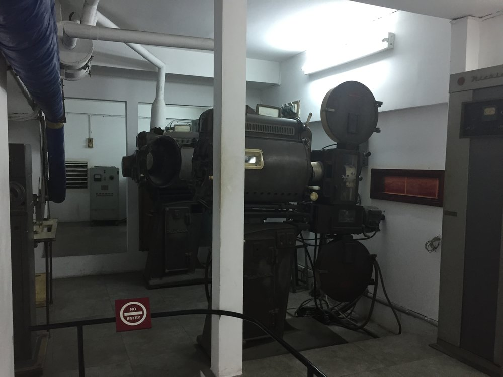 Presidential Palace Projector Room