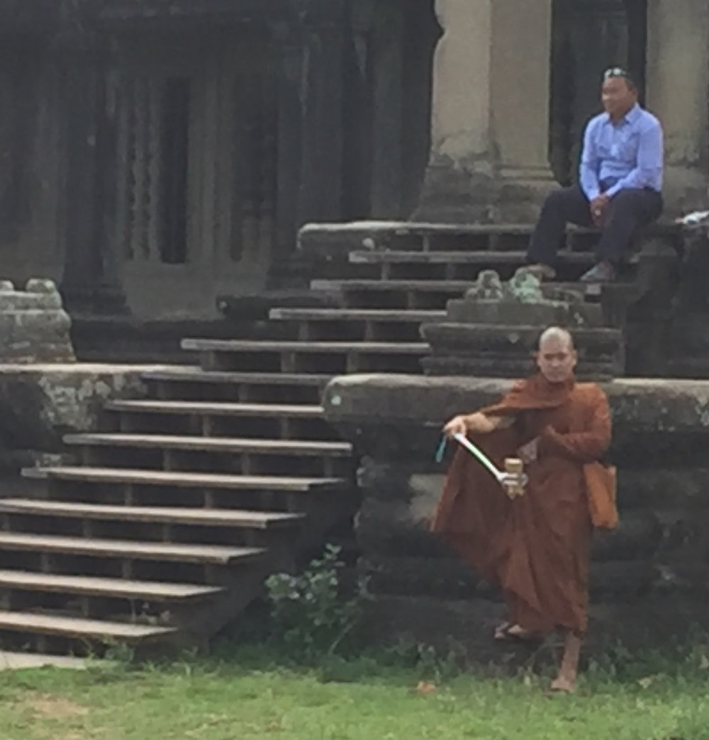 Angkor Wat: snapping selfies at sacred sites