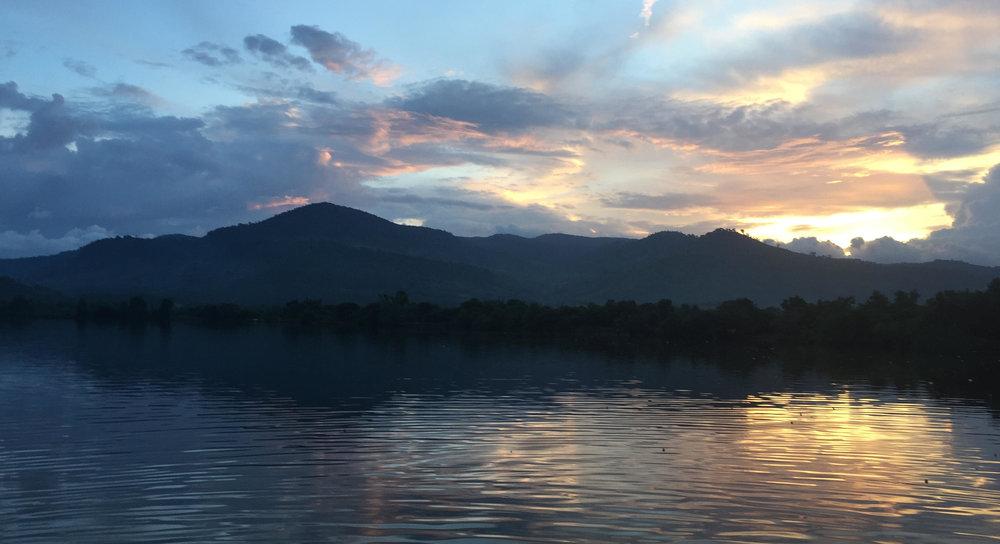 Kampot: sunset