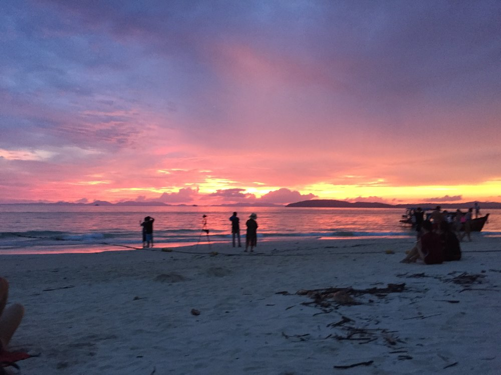 Krabi: sunset
