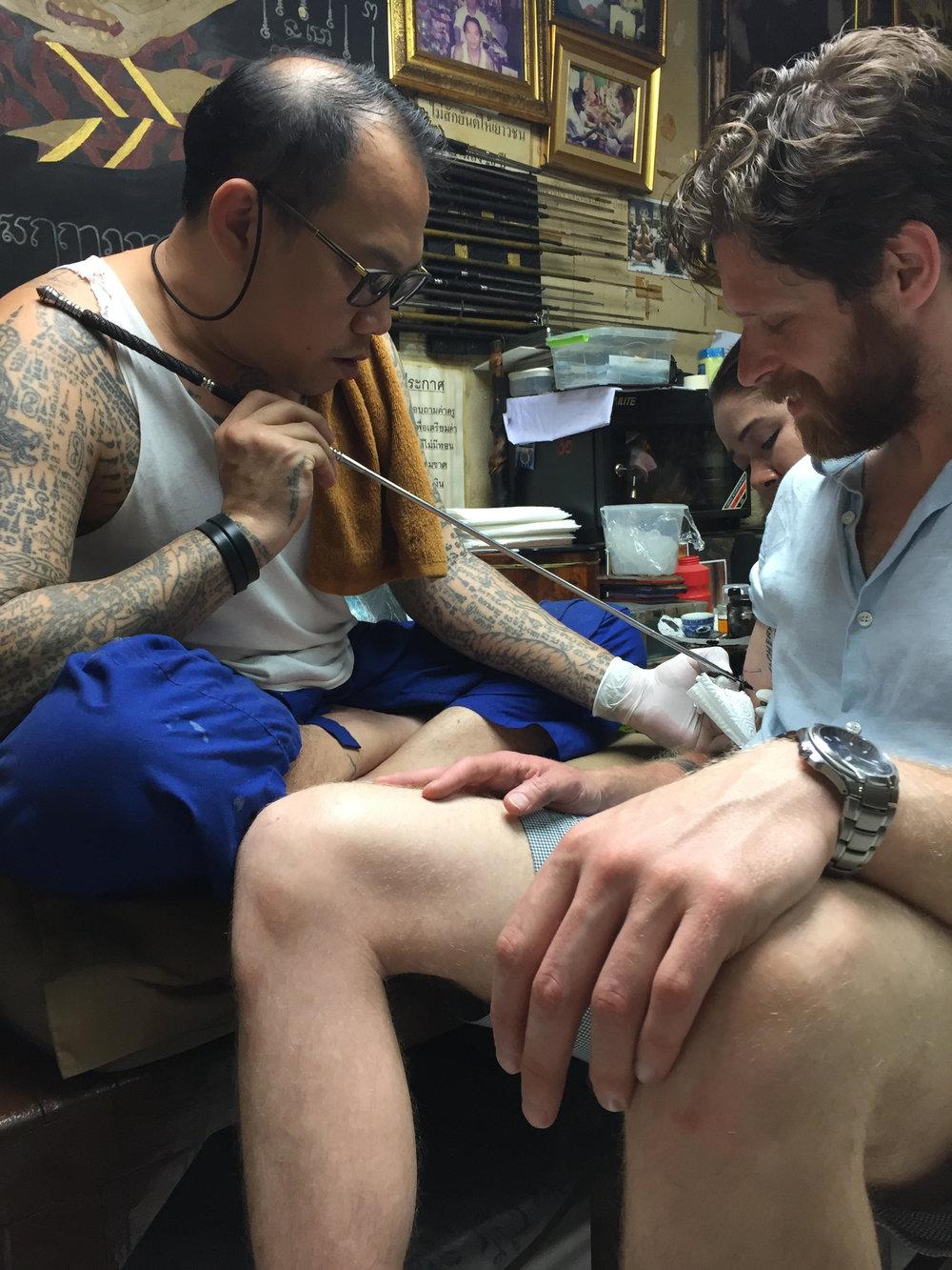 Krung Thep: sacred tattoo
