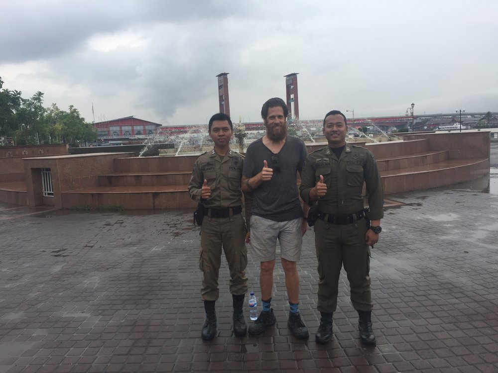 Palembang: even the police love me here