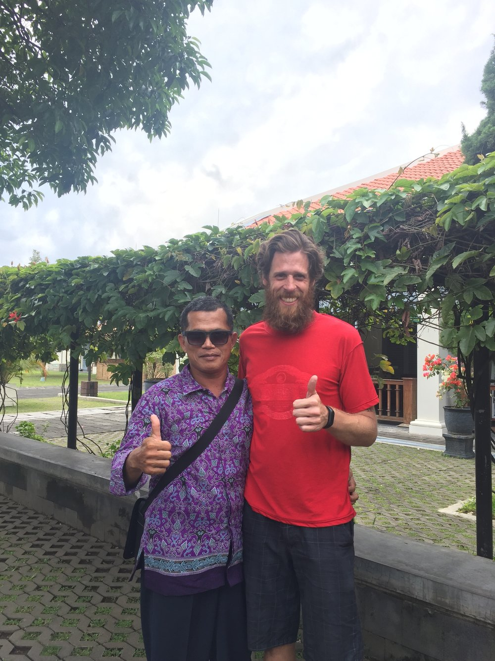 Yogyakarta: he wanted my sunglasses