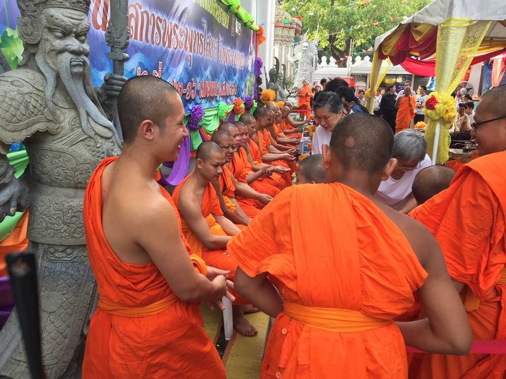 Bangkok Monks, Songkran