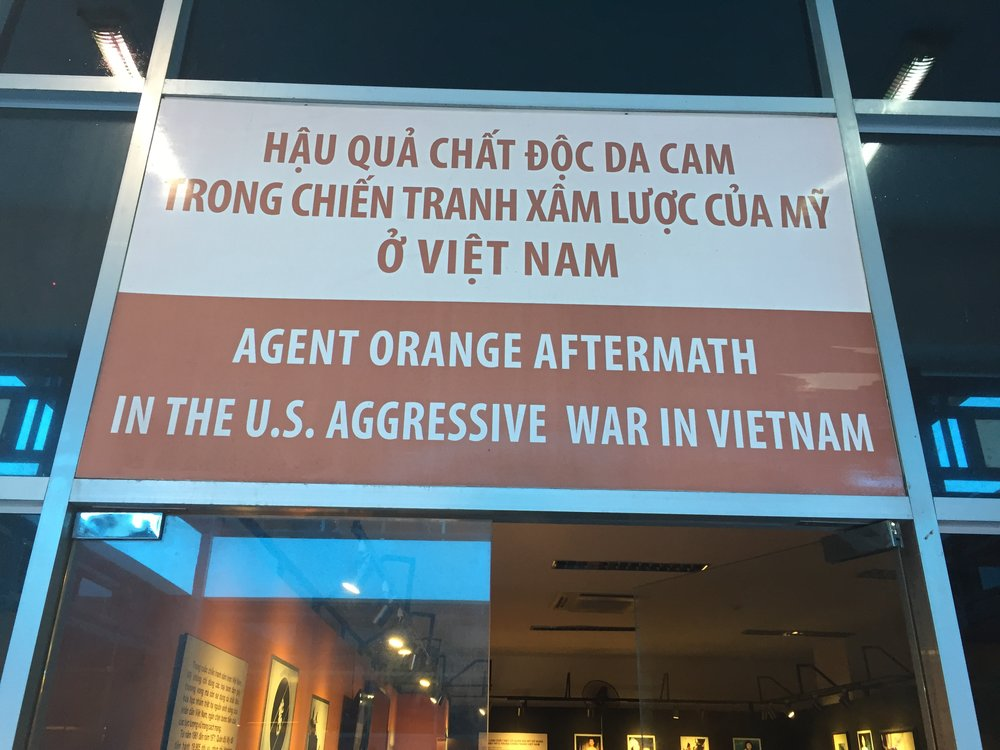 Saigon: War Remnants Museum Agent Orange exhibit