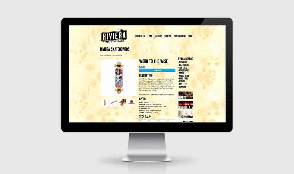 Riviera Web Single Product
