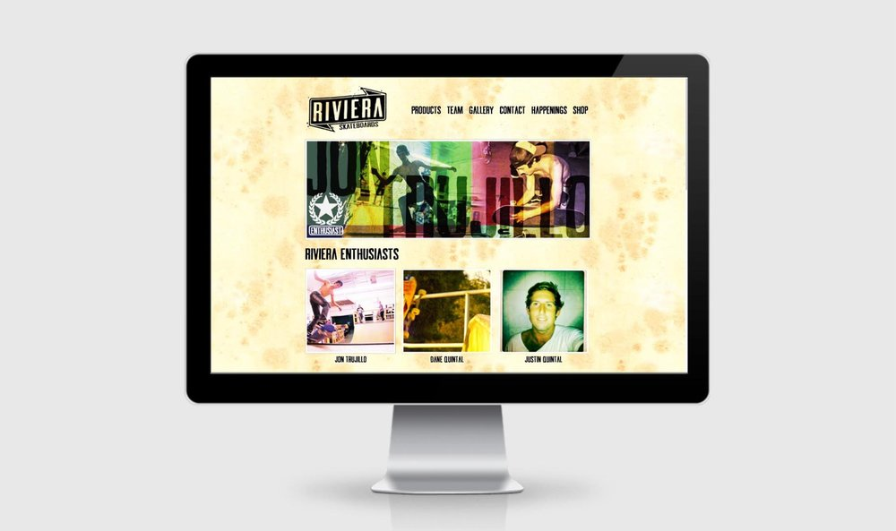 Riviera Web Team Grid