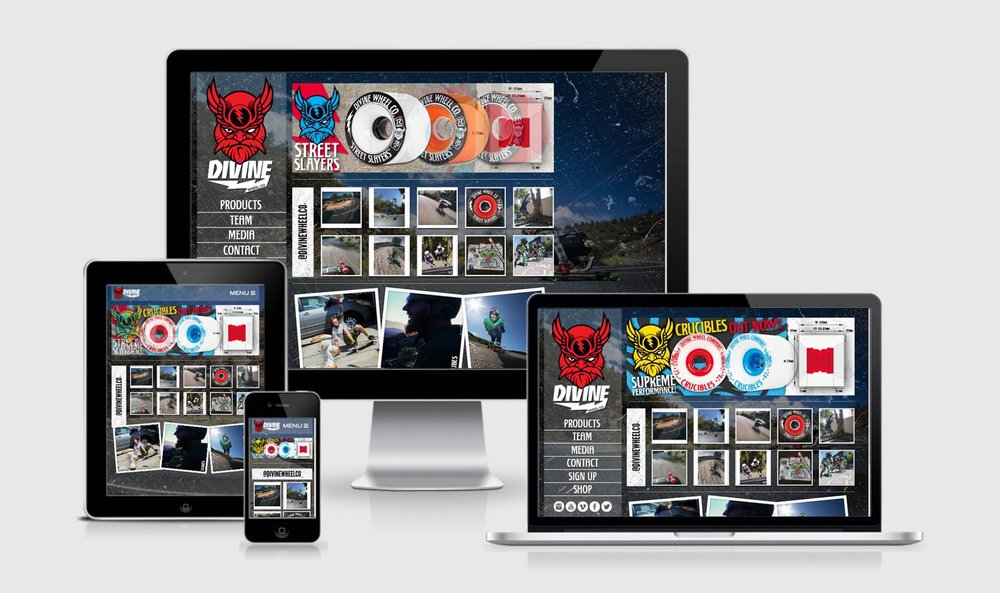 Divine Wheels Homepage