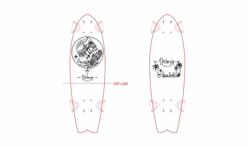 Pray For Surf Art Layout