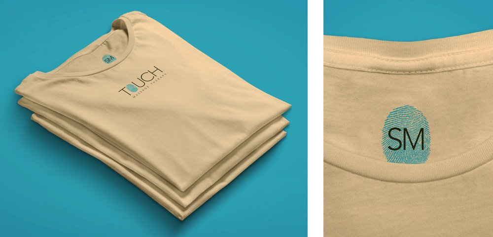 OC Touch Tee Shirt Folded & Tag