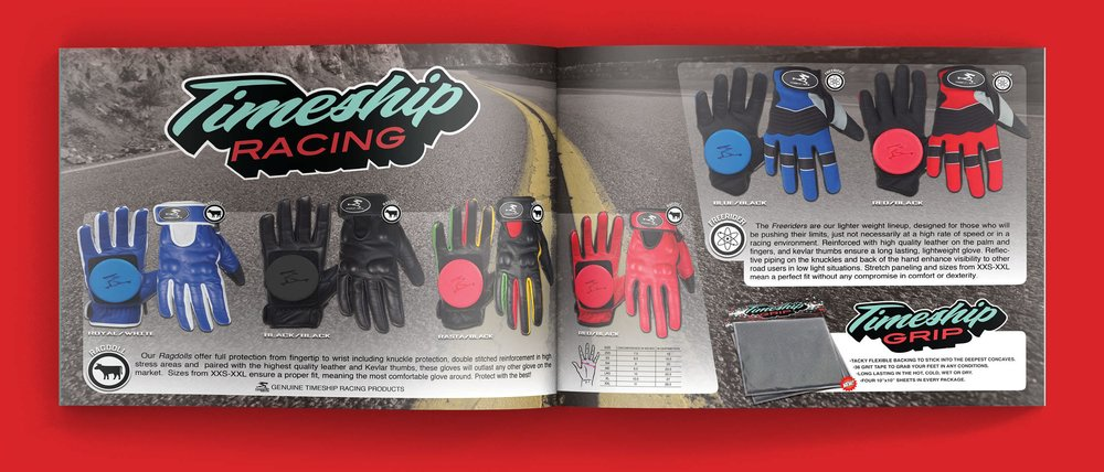 Timeship Racing Catalog