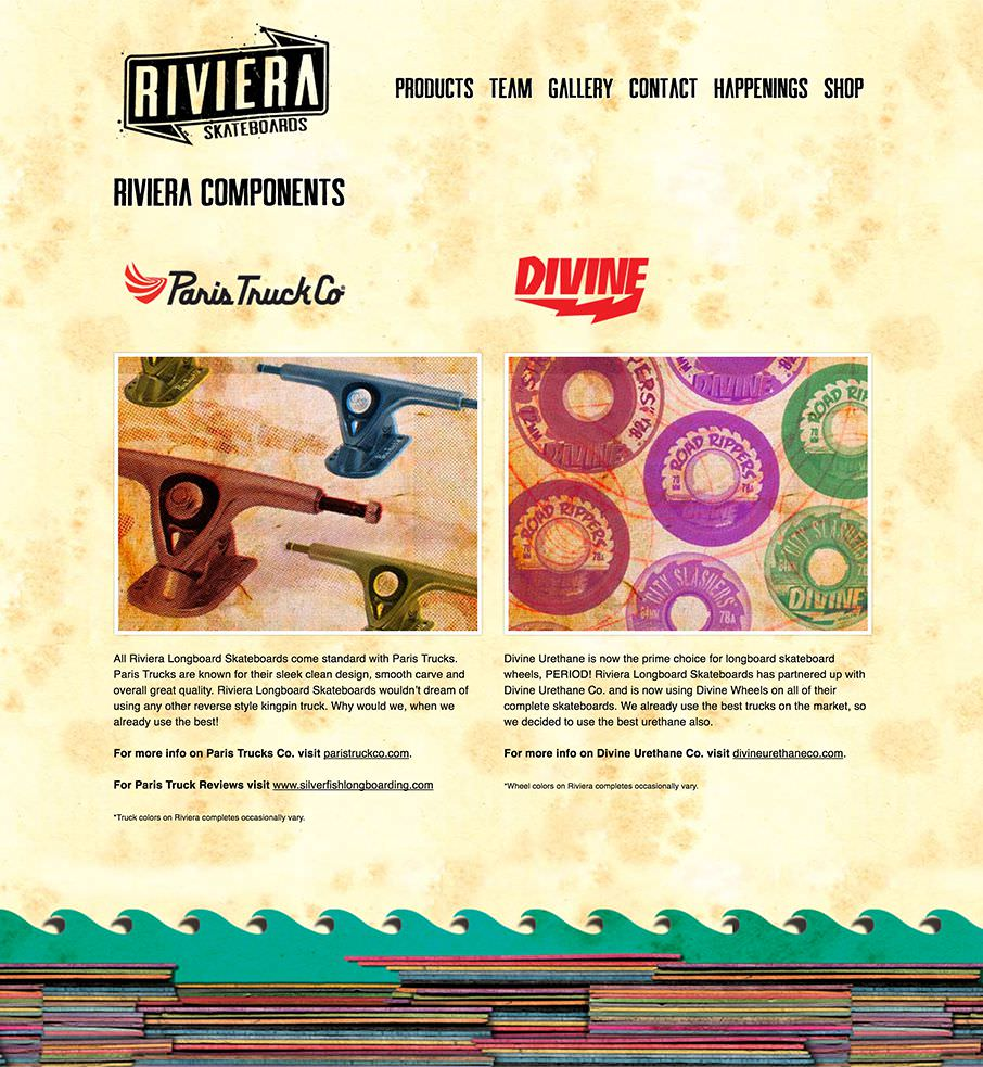 Riviera Skateboards Accessories  Desktop