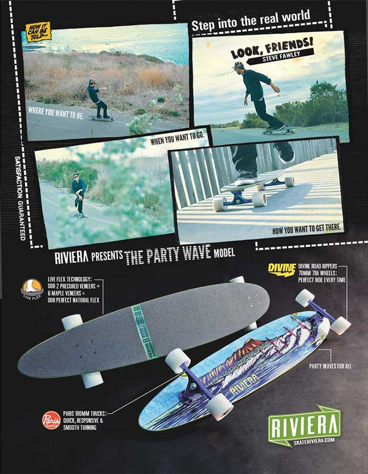 Riviera Skateboards Ads Look, Friends! 03