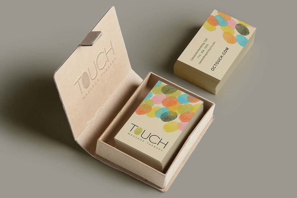 Touch Massage Therapy Branding + Art Direction + Identity