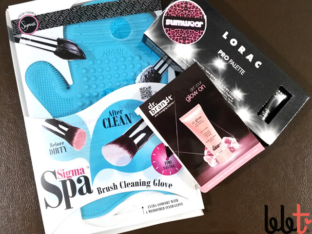 sigma spa brush cleaning glove packaging