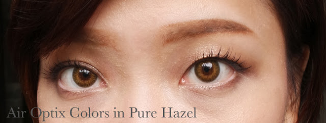 air optix colors in pure hazel