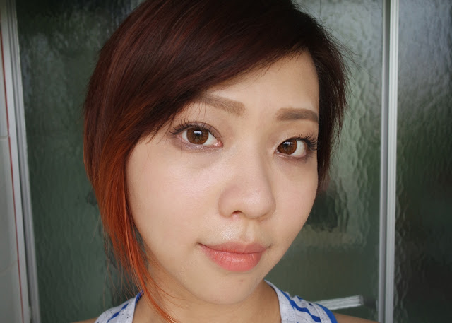 klenspop circle lens in bunny color brown review