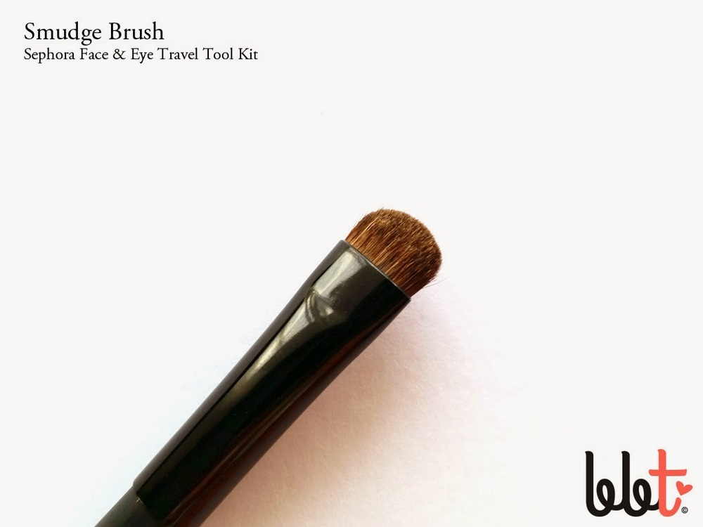 sephora face and eye travel tool kit smudge brush