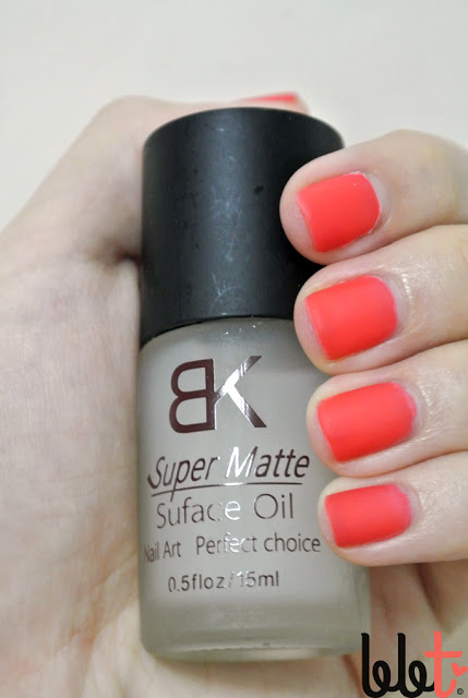 bk super matte surface oil