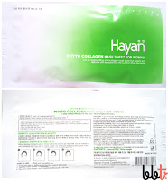 hayan phyto collagen sheet mask for woman